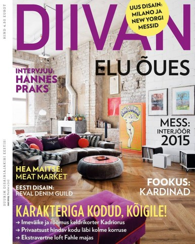 Diivan May 2015 cover